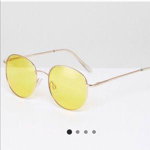 ASOS Yellow Sunglass